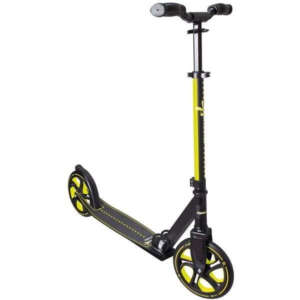 Muuwmi Pro Aluminium Scooter 215 schwarz gelb