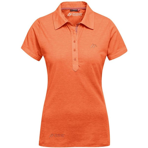 Maier Sports Clare Damen Polo Shirt orange