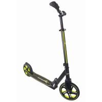 Muuwmi Pro Aluminium Scooter 215mm schwarz lime