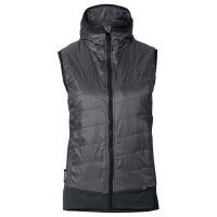 Vaude Freney Hybrid Vest Damen Funktionsweste grau