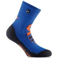 Rohner Hiking Kids Kinder Wandersocken blau