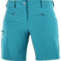 Salomon Wayfarer Shorts Damen Wanderhose kurz blau