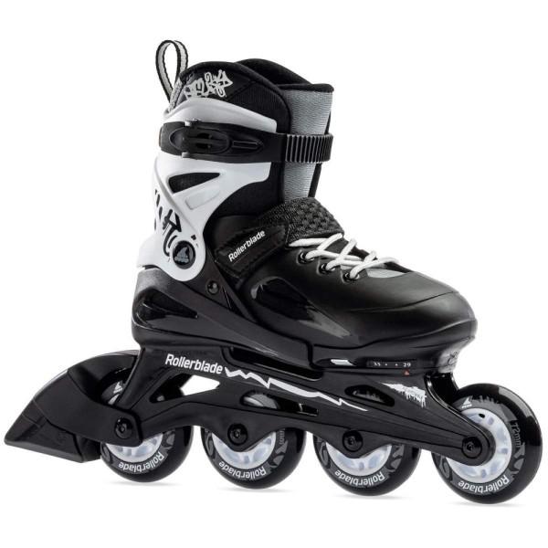 Rollerblade Fury Kinder Inline Skates schwarz