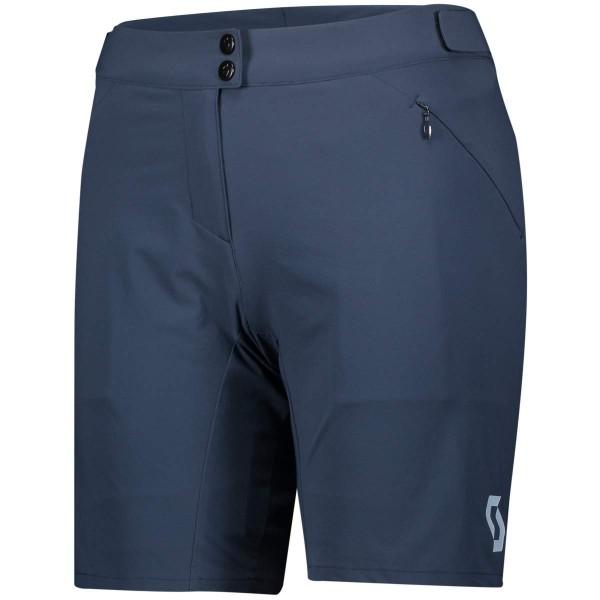 Scott Endurance Shorts LS Fit W Pad Damen Radhose mit Sitzpolster blau