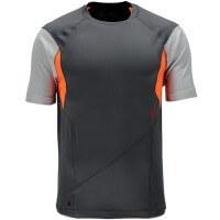 Spyder Strabo S/S Shirt Funktionsshirt grau orange