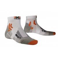 X-Socks Marathon Sportsocken Laufsocken weiss