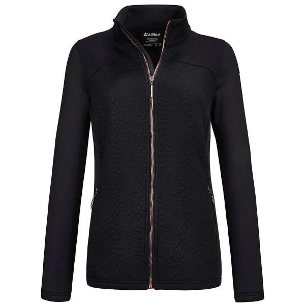 Killtec Mikkeli W Flex Jacket A Damen Fleece schwarz