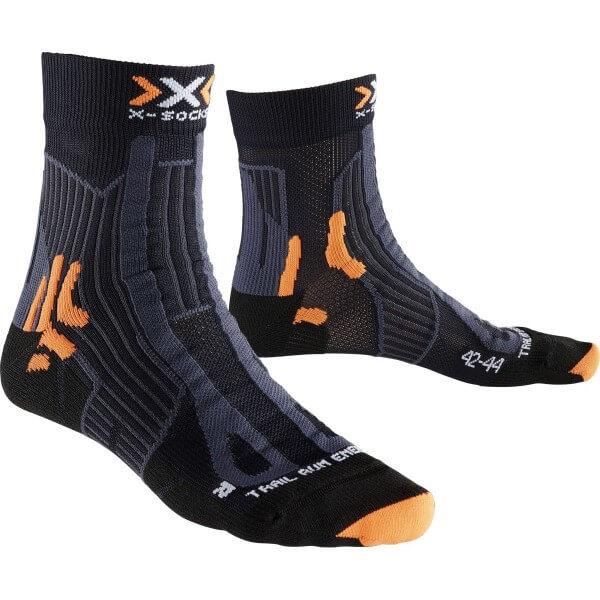 X-Socks Trail Run Energy Man Sportsocken schwarz