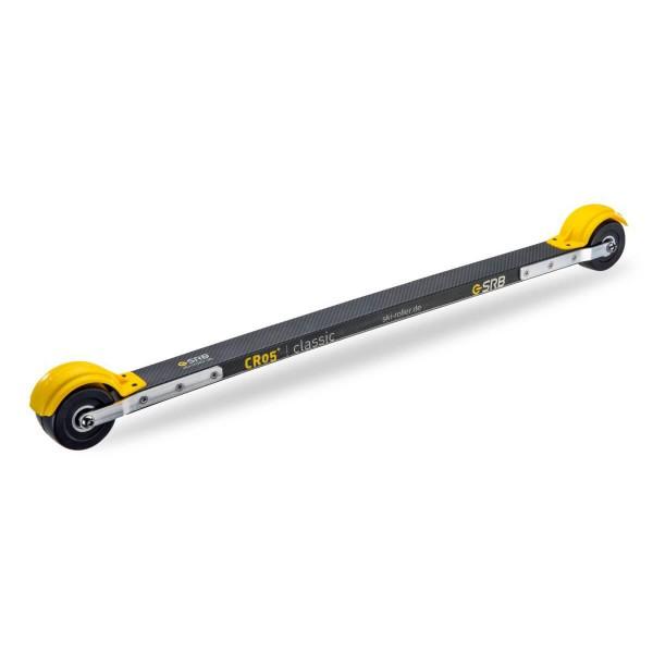 SRB CR05+ Classic Premium Medium Skiroller Set carbon