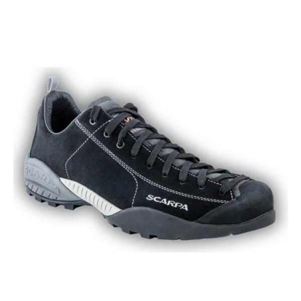 Scarpa Mojito Leder Sneaker Trekkingschuhe schwarz