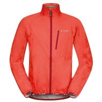 VAUDE Drop Jacket III Herren Regenjacke rot orange
