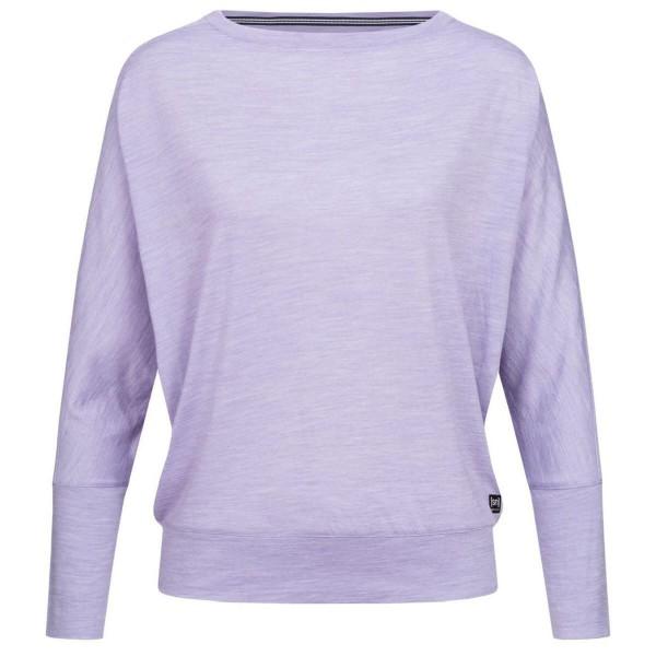 Super.Natural Kula Top Damen Merino Funtionsshirt lila