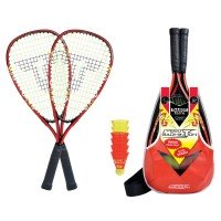 Talbot Torro Speedbadminton Set Speed 5000 schwarz rot