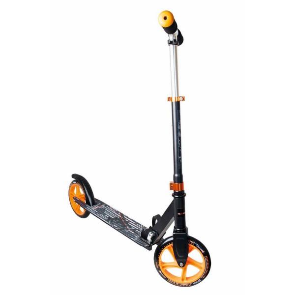 Muuwmi Aluminium Scooter 200mm schwarz orange