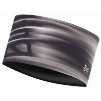 Buff Headband Effect Logo Stirnband grau