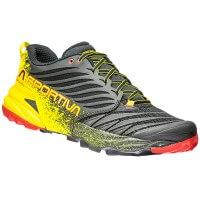 La Sportiva Akasha Trail Running Laufschuhe schwarz gelb