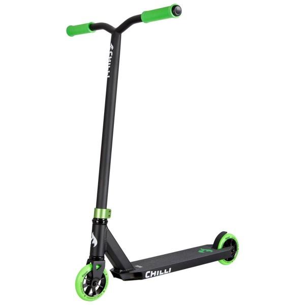 Chilli Base Stuntscooter schwarz grün