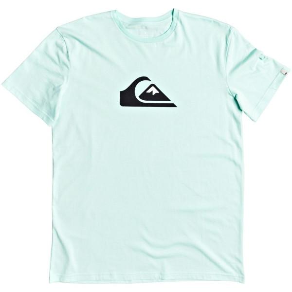 Quiksilver Comp Logo SS T-Shirt hellgrün