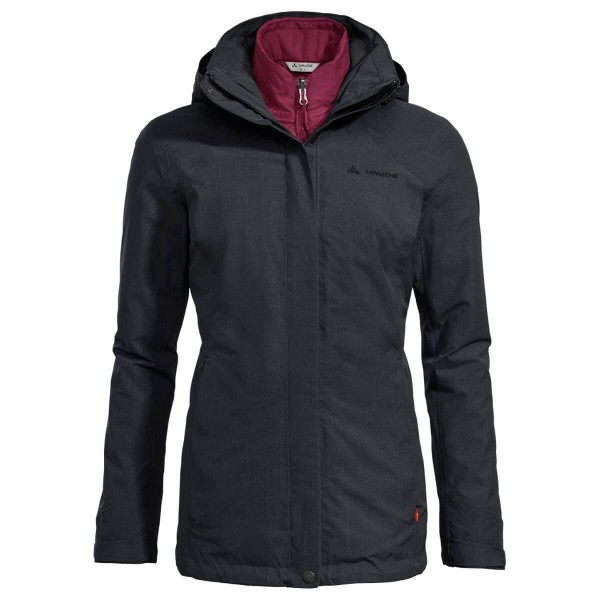 VAUDE Caserina 3in1 Jacket Damen Doppeljacke schwarz