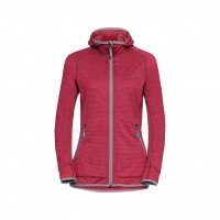 Vaude Back Bowl Fleece Damen Fleecejacke rot