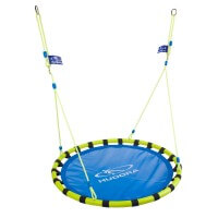 Hudora Alu Nestschaukel Swing 120 grün blau