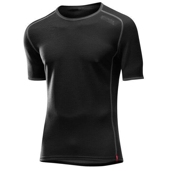 Löffler Shirt Transtex Merino kurzarm Funktionsunterwäsche schwarz