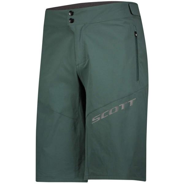 Scott Endurance Mens Shorts LS Fit w Pad Radhose mit Sitzpolster grün