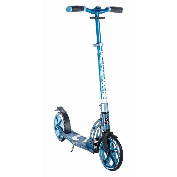 Six Degrees Aluminium Scooter 205mm blau