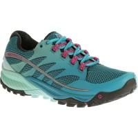 Merrell All Out Charge Trail Running Damen Laufschuhe blau