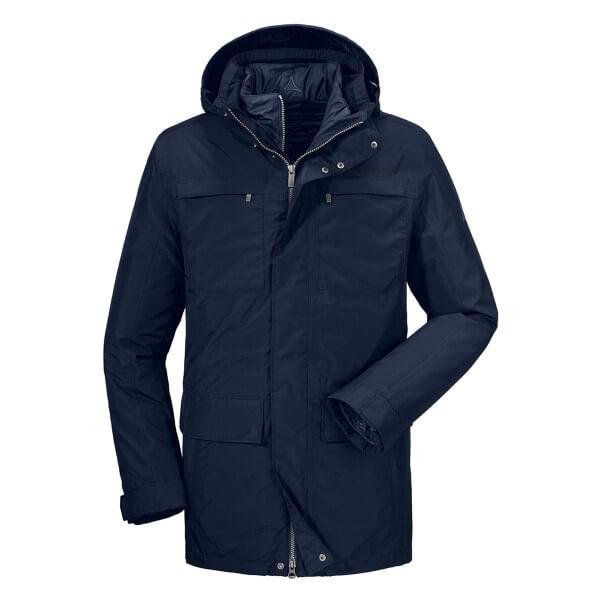 Schöffel 3in1 Jacket Groningen Funktionsjacke blau