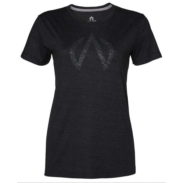 North Bend ExoWool Tee Damen T-Shirt schwarz