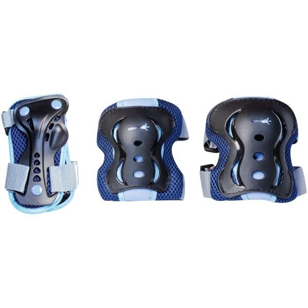 Muuwmi Inline Skates Protektoren Set blau