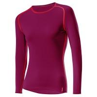 Löffler Shirt langarm Transtex warm Damen Funktionsunterwäsche rot