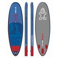 Starboard Inflatable SUP Board Whopper Deluxe Breite 35 blau