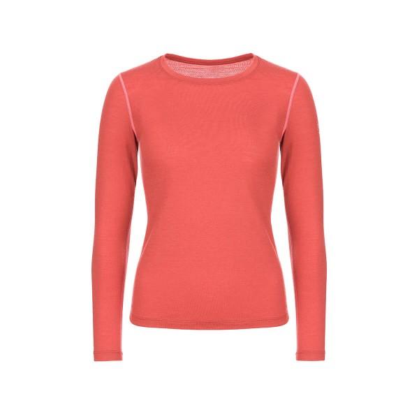 Super.Natural Base Tee 175 Damen Langarmshirt Merino Funktionsshirt rot