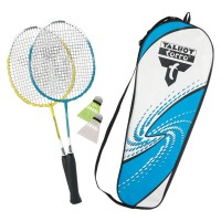 Talbot Torro Badminton Set Attacker Junior Thermobag gelb cyan