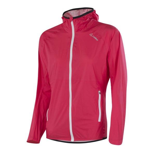 Löffler W Hooded Jacket WPM Pocket Damen Funktionsjacke rot