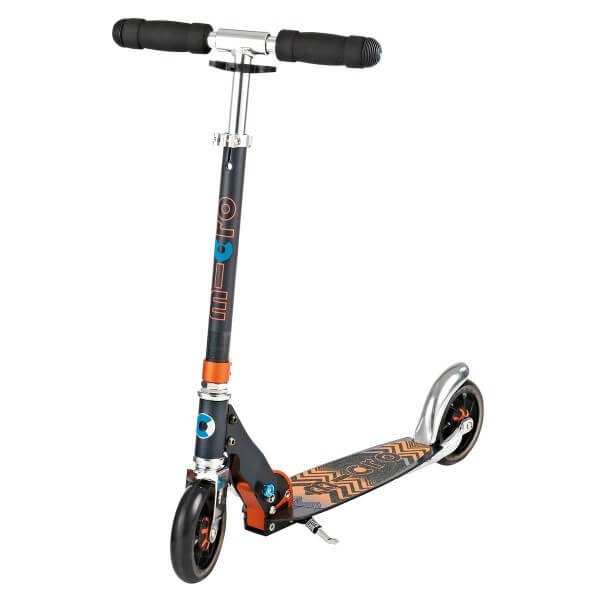 Micro Scooter Speed+ schwarz orange
