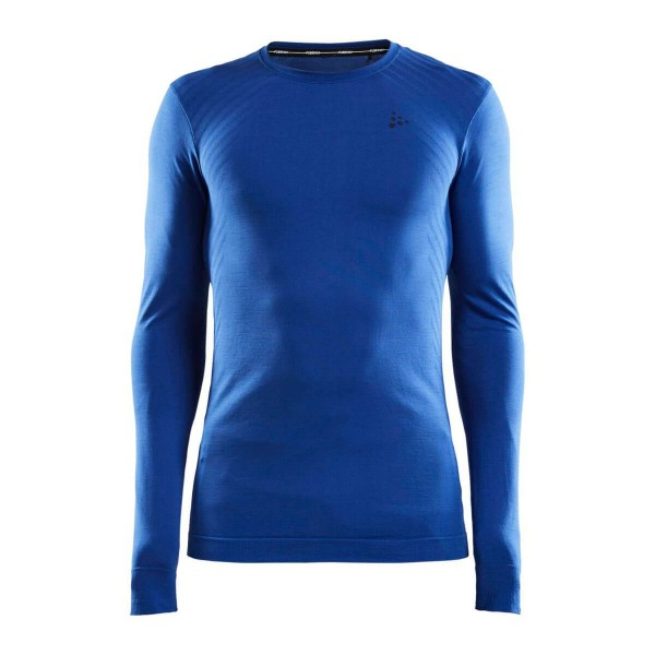 Craft Fuseknit Comfort Langarmshirt blau