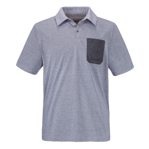 Schöffel Bibao Polo Shirt Funktionsshirt grau