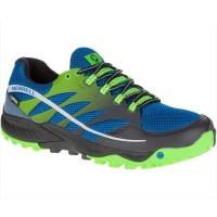 Merrell All Out Charge GTX Trail Running Laufschuhe blau grün