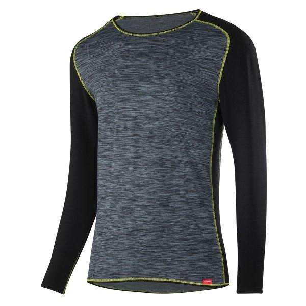 Löffler Shirt kurzarm Transtex warm Funktionsunterwäsche schwarz gelb