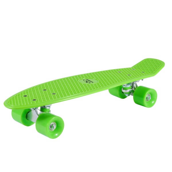 Hudora Skateboard Retro grün