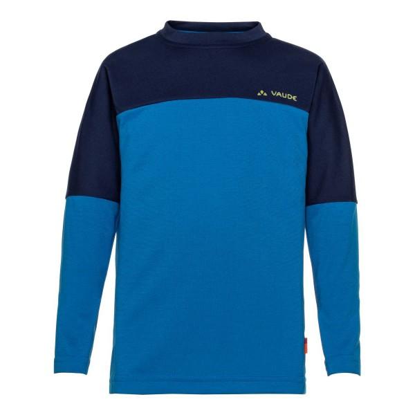 VAUDE Fulmar LS Shirt II Kinder Funktionshirt blau