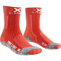 X-Socks Trekking Light Junior 2.0 Kinder Wandersocken rot