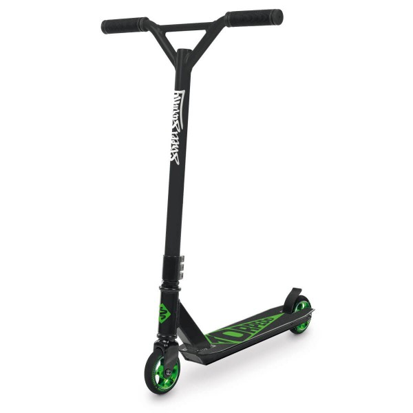 Street Surfing Torpedo Stunt Scooter Black-Core Green