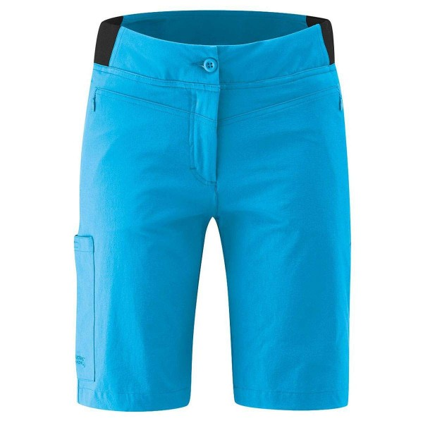 Maier Sports Lulaka Shorts Vario Damen Wanderhose kurz blau