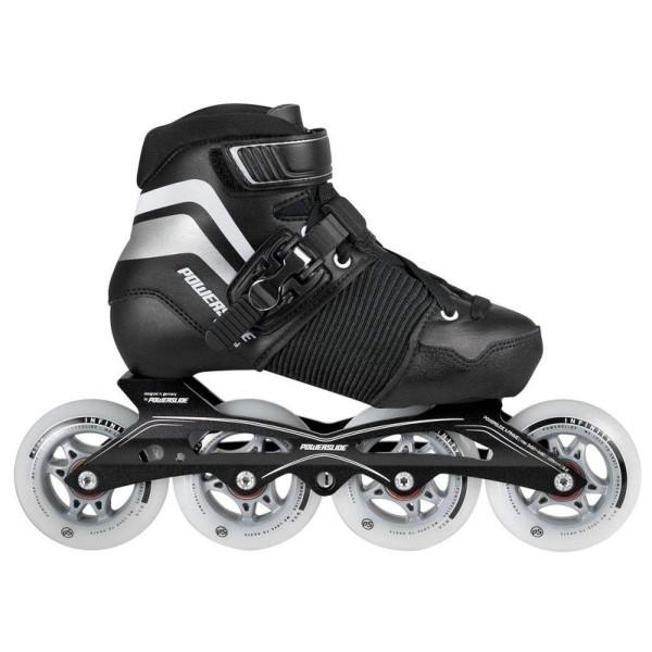 Powerslide Destiny 3in1 Speed Skates Kinder Inline Skates verstellbar EU 33-36 schwarz