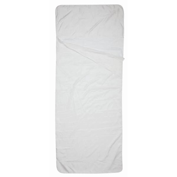 Alvivo Seiden Inlett Hüttenschlafsack weiß