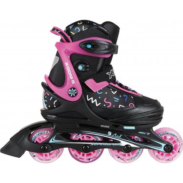 Stuf Xoom 2 Girl Kinder Inline Skates schwarz pink
